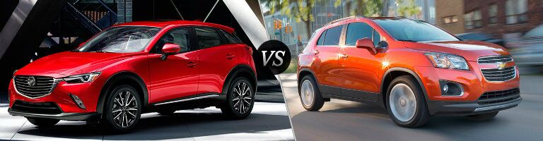 2016 Mazda CX-3 vs 2016 Chevy Trax