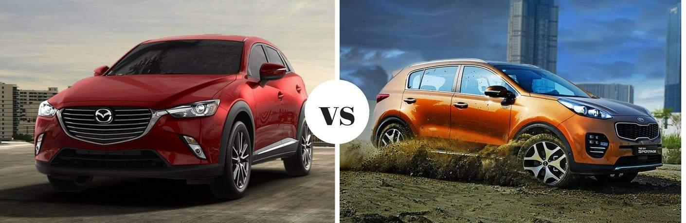 2018 Mazda CX-3 vs 2018 Kia Sportage