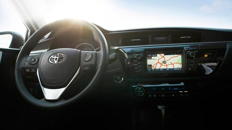 Toyota Corolla navigation system