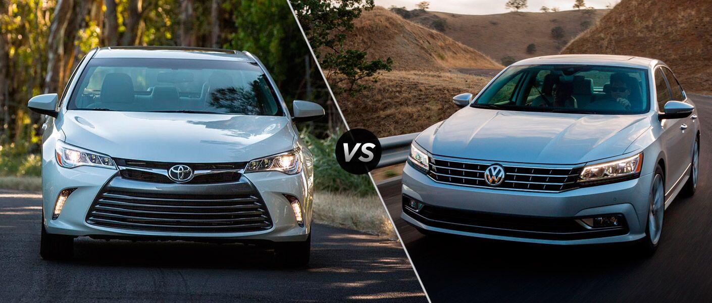 2016 Toyota Camry vs 2016 Volkswagen Passat