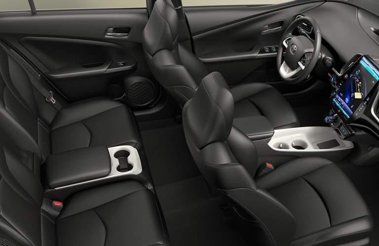 2017 Toyota Prius Prime full interior passenger space