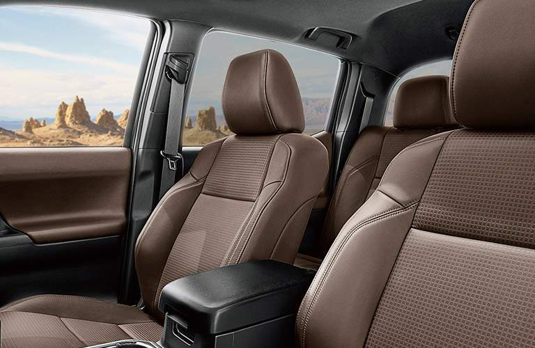 2017 Toyota Tacoma front interior passenger space