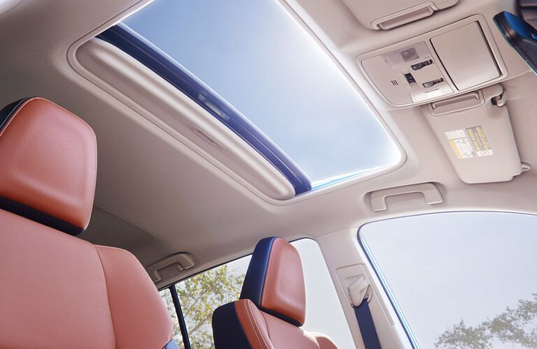 Moon roof in 2017 Toyota RAV4