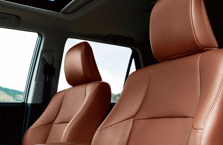 2019 Toyota 4Runner interior close up of seats