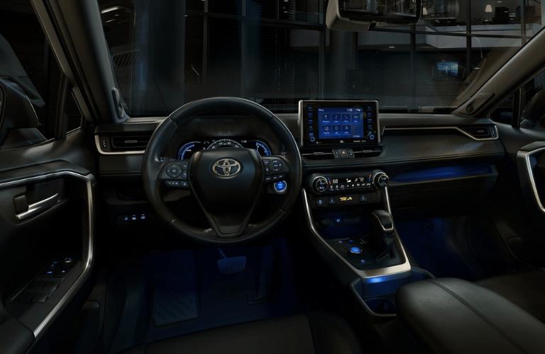 2019 Toyota RAV4 Hybrid interior front
