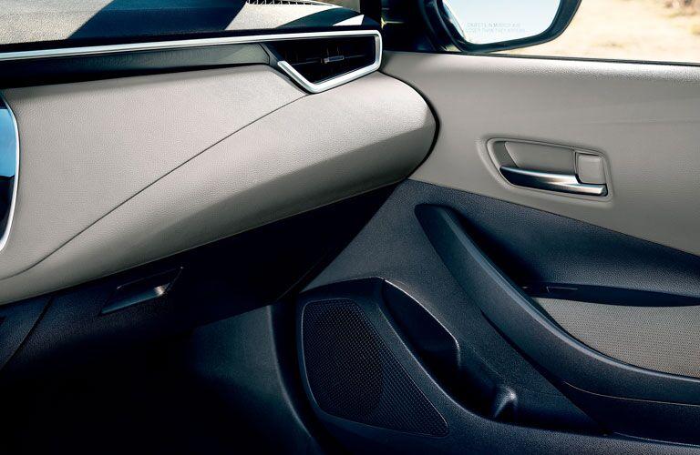 Interior door of 2020 Toyota Corolla Hybrid