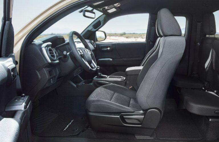 2016 Toyota Tacoma Vacaville CA interior front seat