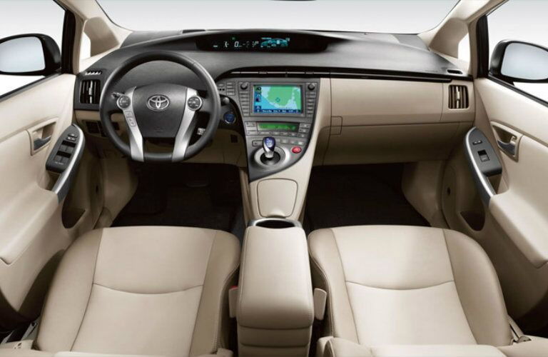 2015 Toyota Prius Vacaville CA interior dashboard