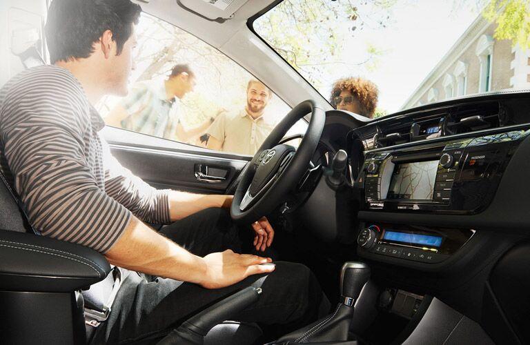 2015 Toyota Corolla Vacaville CA interior