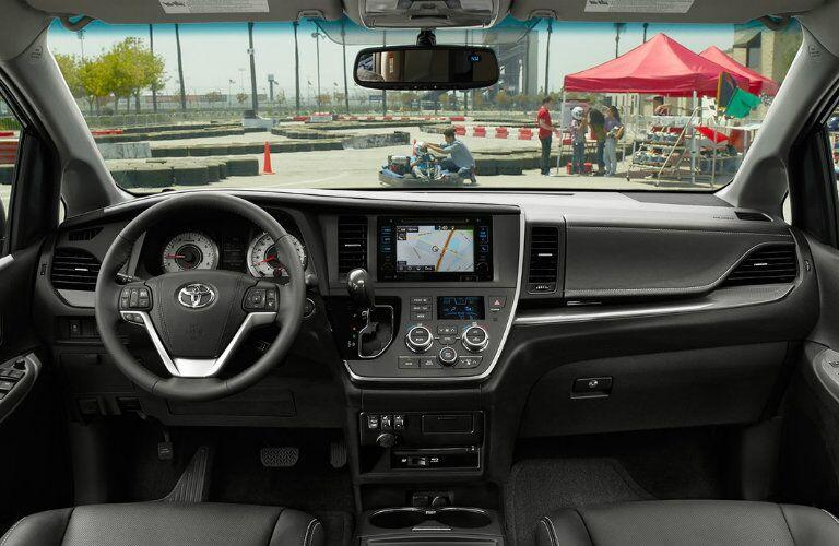 2015 Toyota Sienna interior dashboard
