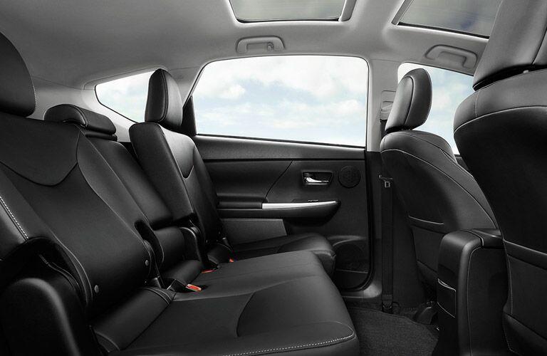 2015 Toyota Prius Vacaville CA spacious interior