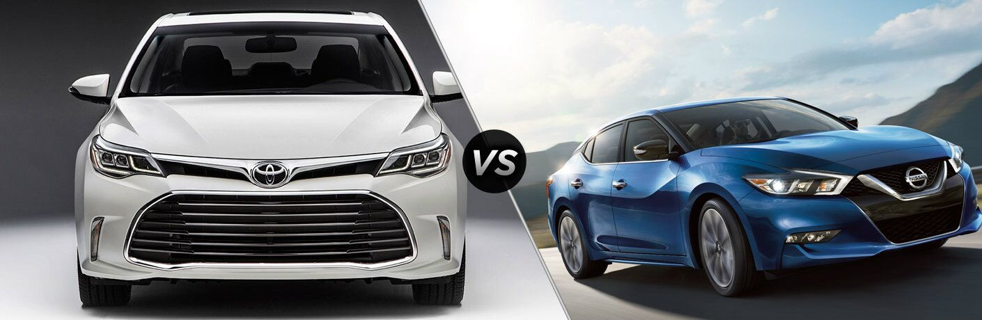 2016 Toyota Avalon vs 2016 Nissan Maxima