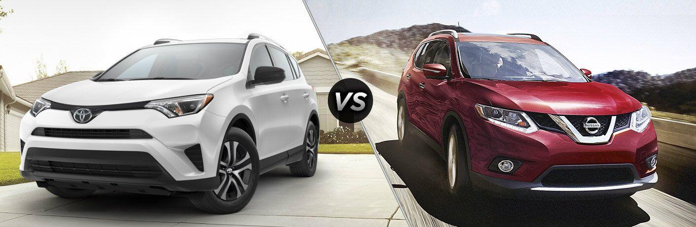 2016 Toyota RAV4 vs 2016 Nissan Rogue