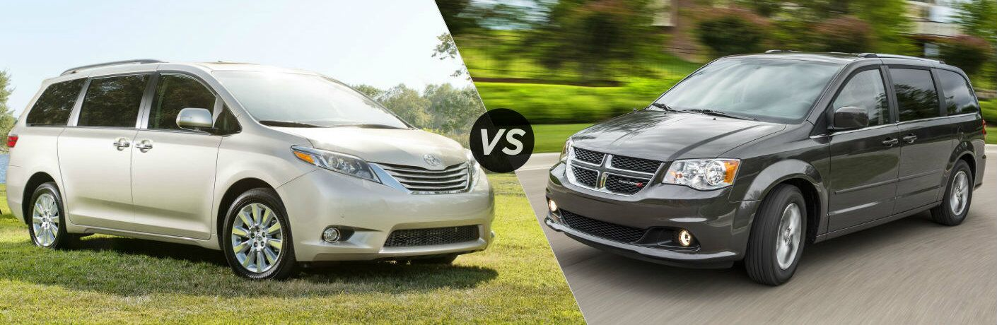 2016 Toyota Sienna vs 2016 Dodge Grand Caravan