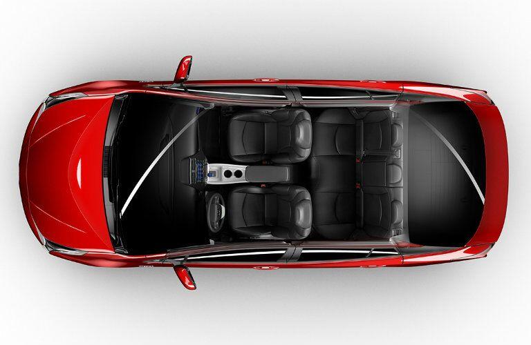 2016 Toyota Prius Vacaville CA interior space