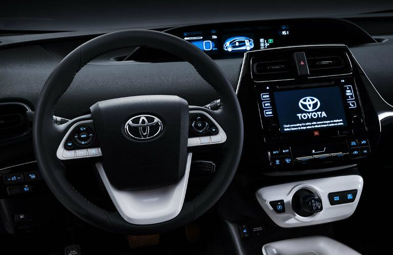 2016 Toyota Prius Vacaville CA wraparound dashboard design