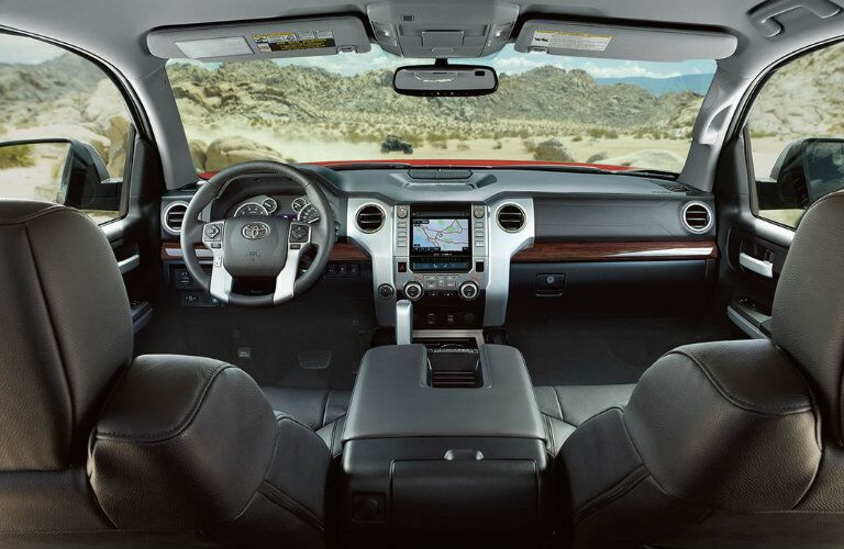 2016 Toyota Tundra interior features