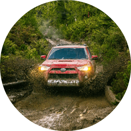 2016 Toyota 4Runner off-road drivetrain