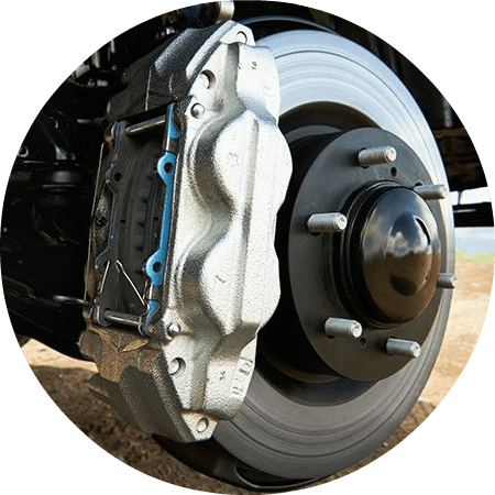 2016 Toyota 4Runner ventilated disc brakes