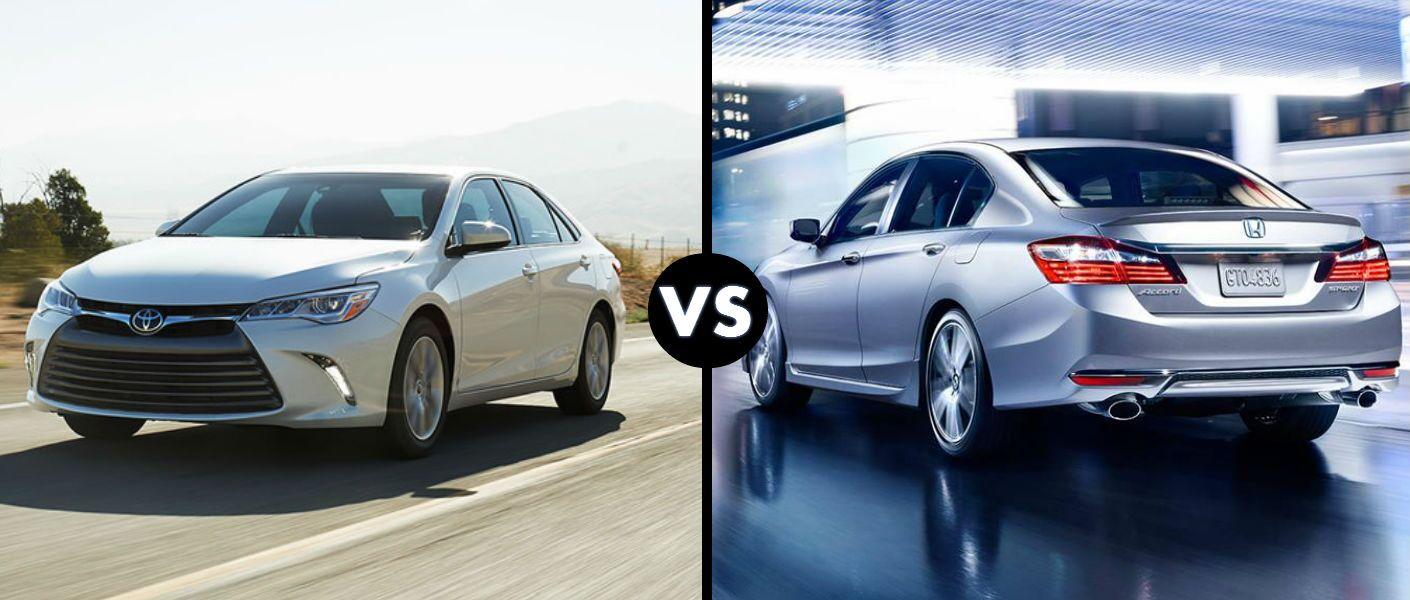 2016 Toyota Camry vs 2016 Honda Accord