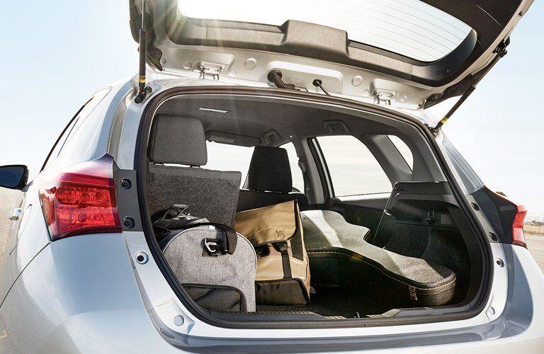 2017 Toyota Corolla iM Hatchback Cargo Capacity