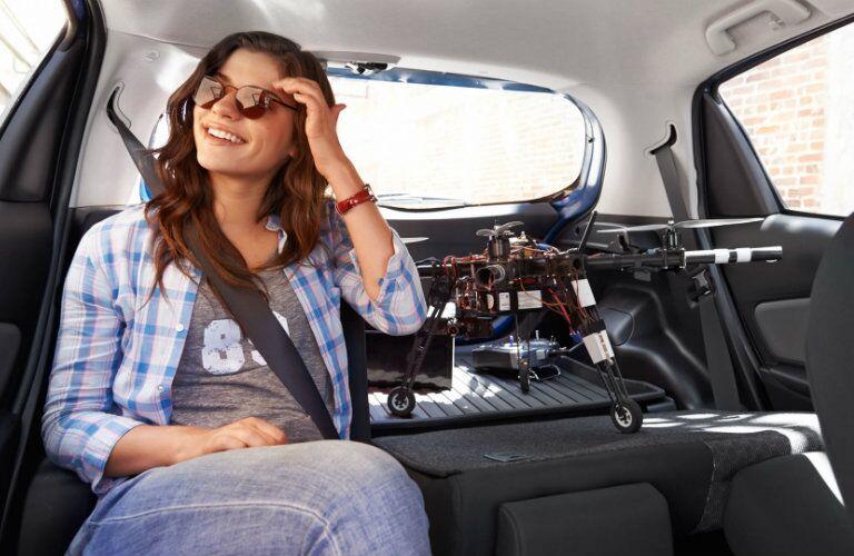 2017 Toyota Yaris versatile interior