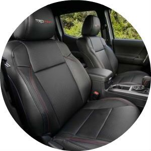 2017 Toyota Tacoma TRD Pro front seat
