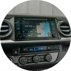 2017 Toyota Tacoma TRD Pro center console