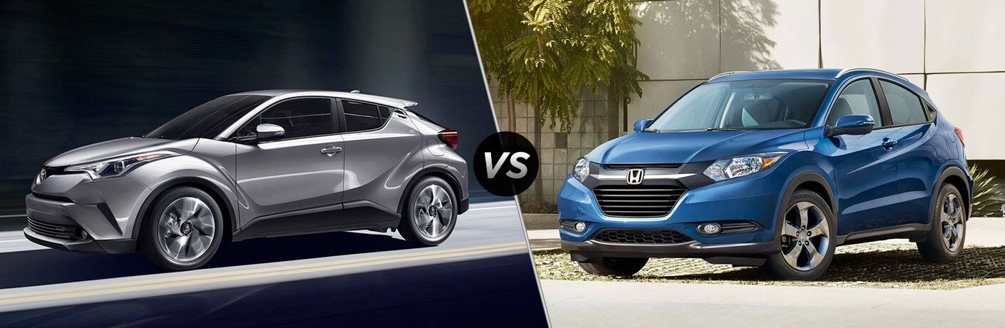 2018 Toyota C-HR vs 2017 Honda HR-V
