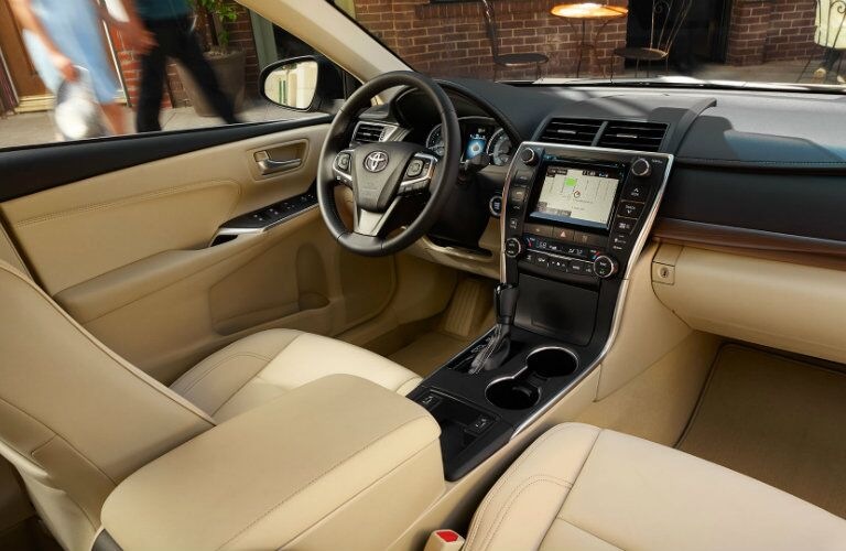 2015 Toyota Camry Vacaville CA interior dashboard