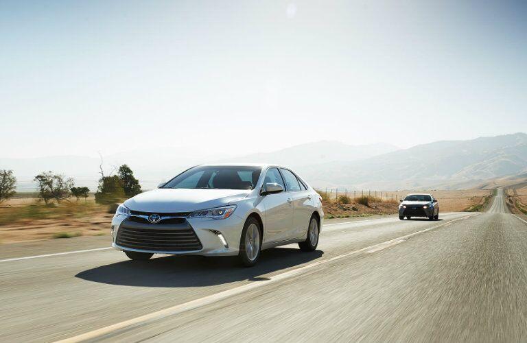 2015 Toyota Camry Vacaville CA exterior fuel efficiency
