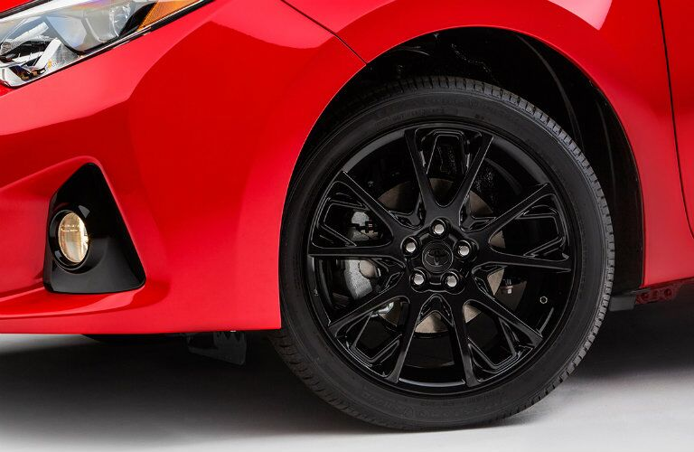 2016 Toyota Corolla Special Edition Vacaville CA black gloss wheels