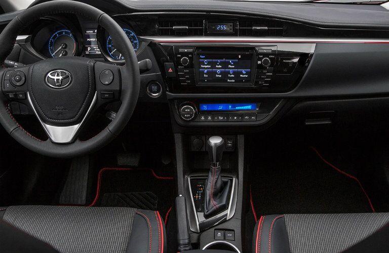 2016 Toyota Corolla Special Edition Vacaville CA interior dashboard