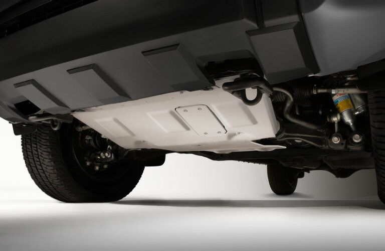 TRD front skid plate
