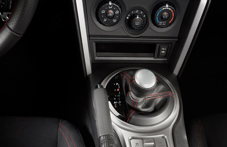 2016 Scion FR-S dashboard shifter
