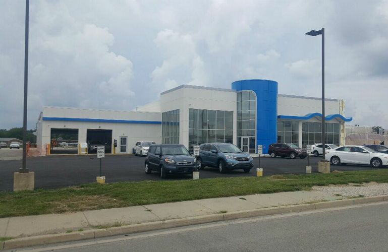 Kokomo Auto World Under Construction