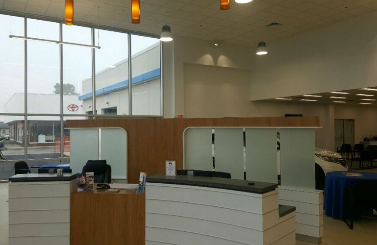 Kokomo Auto World New Reception Desk