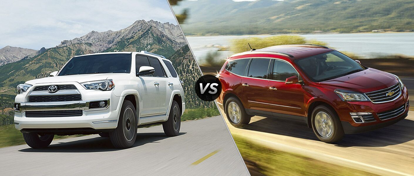 2016 Toyota 4Runner vs 2016 Chevrolet Traverse