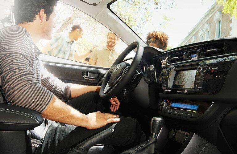2018 Toyota Corolla Infotainment Screen