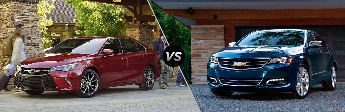 2017 Toyota Camry VS 2017 Chevy Impala