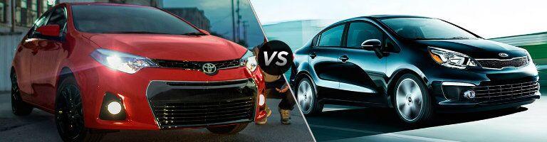 2016 Toyota Corolla vs 2016 Kia Rio