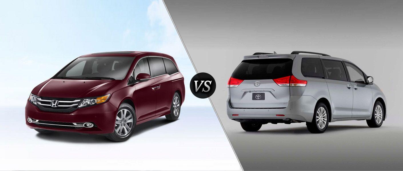 2014 Honda Odyssey Vs 2014 Toyota Sienna