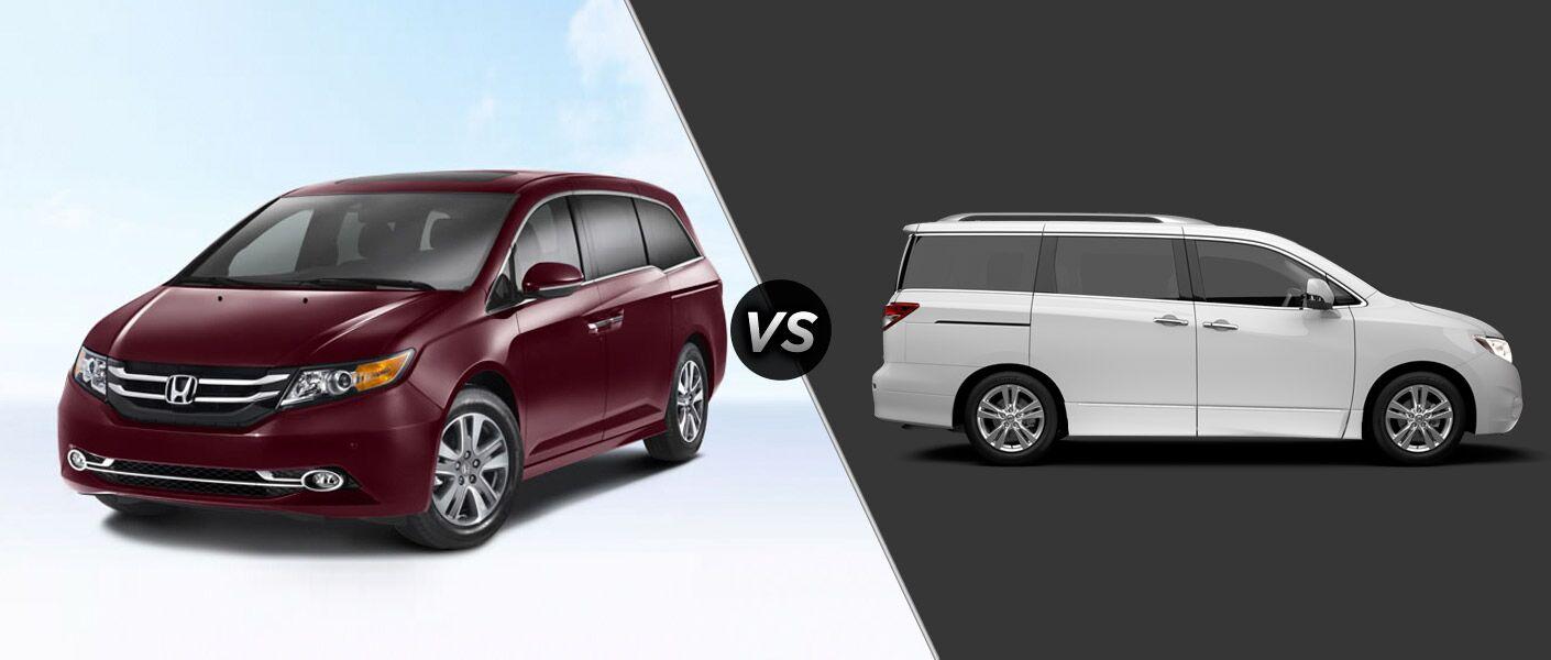 2014 Honda Odyssey vs 2014 Nissan Quest