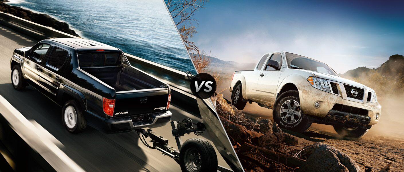 2014 Honda Ridgeline vs 2014 Nissan Frontier