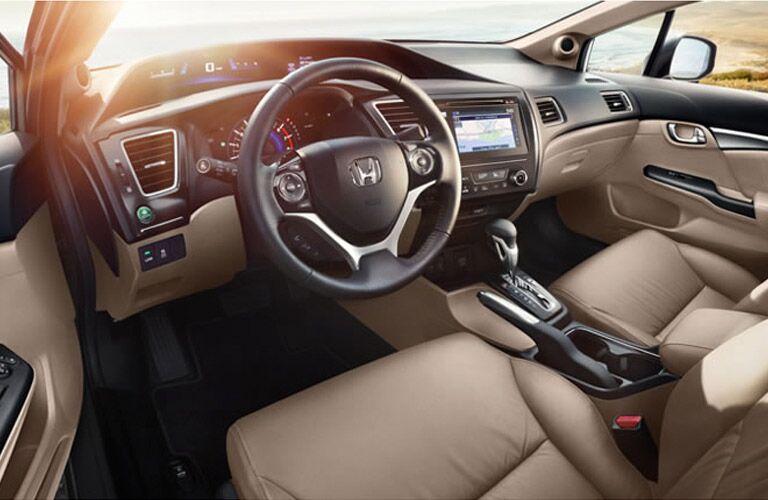 2015 Honda Civic Hybrid Interior
