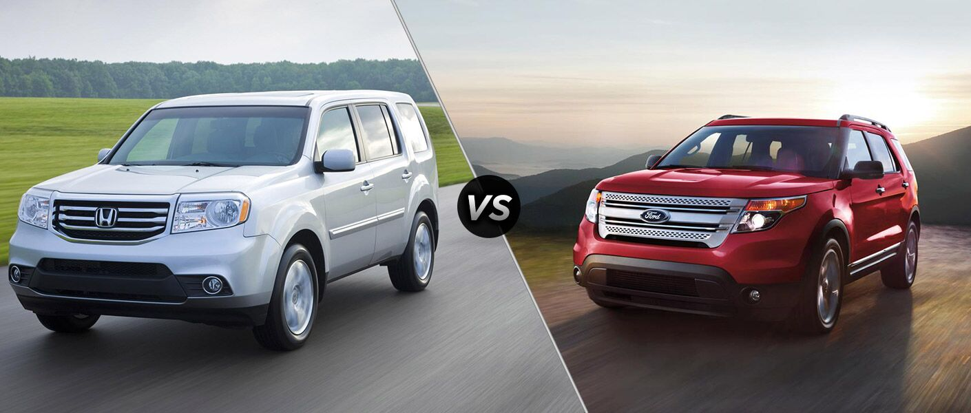 2015 Honda Pilot vs 2015 Ford Explorer