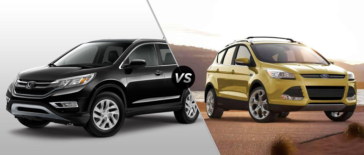2015 Honda CR-V vs 2015 Ford Escape