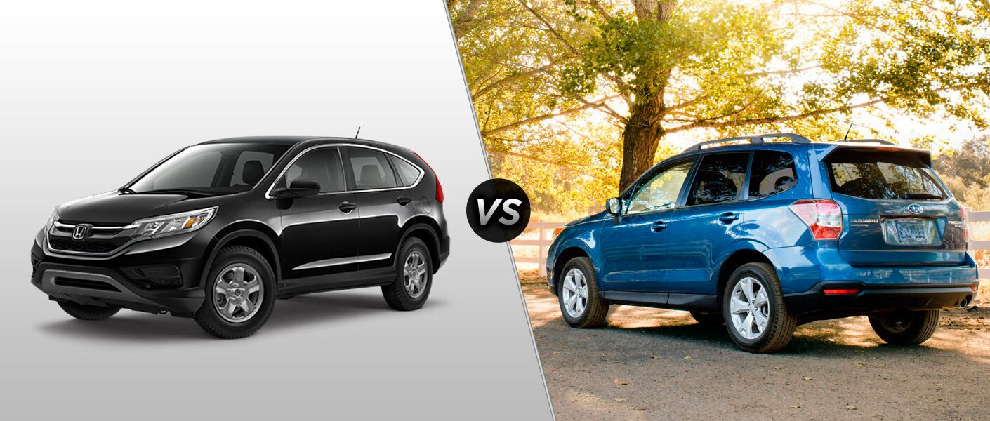 2015 honda cr v vs 2015 subaru forester. Black Bedroom Furniture Sets. Home Design Ideas