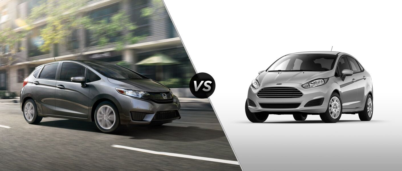 2015 Honda Fit Vs 2015 Ford Fiesta