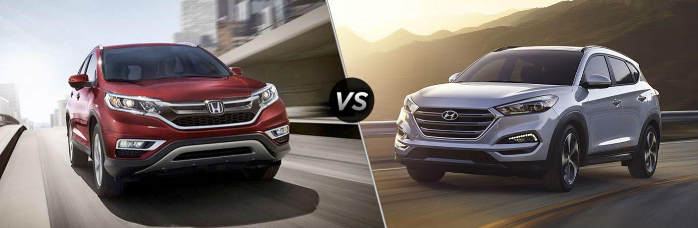 2016 Honda CR-V vs 2016 Hyundai Tucson